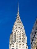 Cima dell'edificio di Chrysler Immagini Stock
