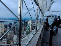 Cima dell'Empire State Building fotografia stock libera da diritti