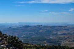 Cima della montagna fotografie stock