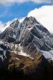 Cima della montagna Fotografia Stock