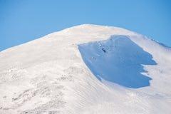 Cima della montagna fotografie stock libere da diritti