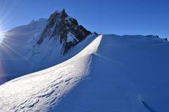 Cima della montagna Immagine Stock Libera da Diritti
