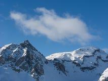 Cima della montagna immagine stock