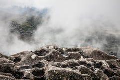 Cima della montagna di Agulhas Negras Immagini Stock