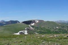 Cima della montagna di Colorado Fotografie Stock