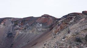 Cima della montagna di Fuji Fotografie Stock