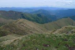 Cima della montagna di Xiaowutai Fotografia Stock Libera da Diritti