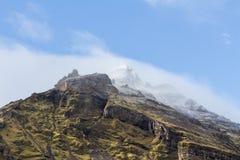 Cima della montagna in Islanda Immagini Stock Libere da Diritti