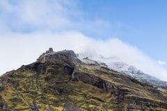Cima della montagna in Islanda fotografie stock
