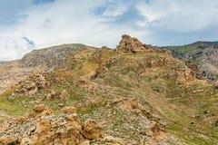 Cima della montagna nell'Irak Fotografie Stock
