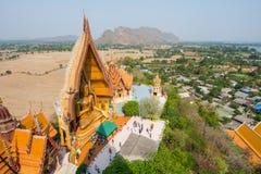 Cima della vista del tempio Fotografia Stock Libera da Diritti