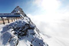 Cima delle alpi Fotografia Stock Libera da Diritti