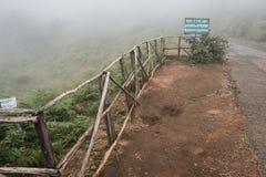 Cima delle colline di Nilgiri Fotografia Stock