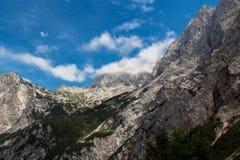 Cima delle montagne Fotografia Stock Libera da Diritti