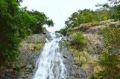 cima di alta cascata di Sarika in Tailandia Immagine Stock Libera da Diritti