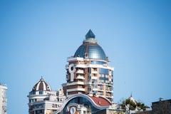 Cima di alta costruzione in Kyiv, Ucraina Immagini Stock