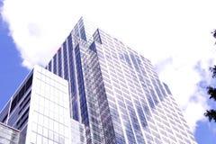 Cima di un edificio per uffici alto Fotografia Stock Libera da Diritti