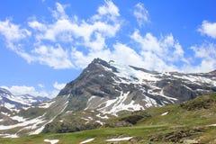 Cima di una montagna Fotografie Stock