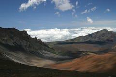 In cima a Haleakala Immagini Stock Libere da Diritti