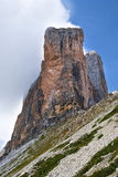 Cima Piccola - Tre Cime di Lavaredo Royalty Free Stock Images