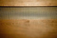 Cima stereo ad alta fedeltà d'annata dell'amplificatore Fotografie Stock