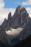 Cima 12 Val Fiscalina,白云岩 库存图片