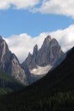 Cima 12 Val Fiscalina,白云岩 库存照片