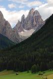 Cima 12 Val Fiscalina,白云岩 免版税库存图片