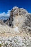 Cima Vezzana - Dolomites, Italy, Europe. Peak Of Cima Vezzana - Dolomites, Italy, Europe Royalty Free Stock Photo