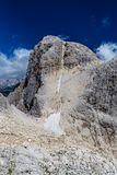 Cima Vezzana - Dolomites, Italy, Europe. Peak Of Cima Vezzana - Dolomites, Italy, Europe Royalty Free Stock Photos
