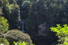 Cimahi waterfall. At bandung indonesia stock photography