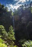 Cimahi waterfall. At bandung indonesia royalty free stock photography