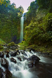Cimahi waterfall. The morning stock image