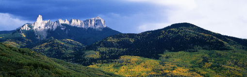 Cimarron Mountain Range Royalty Free Stock Photos