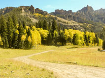 Cimarron Valley Colorado. Fall in the Cimarron Valley Colorado Stock Photography