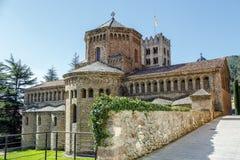 里波尔修道院cimborio 库存照片