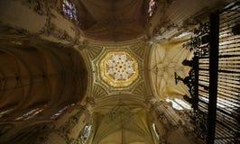Cimborrio of Burgos Cathedral Stock Images