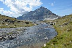 CIME Bianche, Valle δ ` Aosta, Ιταλία Στοκ φωτογραφία με δικαίωμα ελεύθερης χρήσης