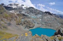 CIME Bianche, Valle δ ` Aosta, Ιταλία Στοκ εικόνα με δικαίωμα ελεύθερης χρήσης