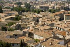 Cime del tetto francese fotografie stock libere da diritti