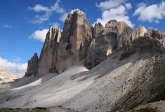 cime Di Dolomiti lavaredo tre fotografia stock