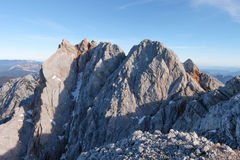 Cimeira da montanha de Rucky Foto de Stock Royalty Free