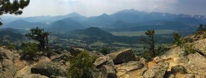 Cimeira da montanha dos cervos Fotos de Stock Royalty Free