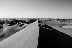 Cimeira de Big Daddy Dune View na paisagem do deserto, Sossusvlei imagem de stock
