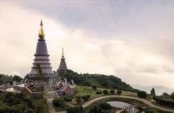 Cimeira de Doi Inthanon Foto de Stock Royalty Free