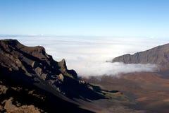 Cimeira de Haleakala Fotografia de Stock