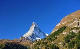 Cimeira de Matterhorn Imagem de Stock Royalty Free