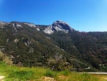 Cimeira de Moro Rock no parque nacional de sequoia, Califórnia, Estados Unidos Imagens de Stock