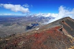 Cimeira de Ngauruhoe da montagem, Nova Zelândia Imagens de Stock Royalty Free