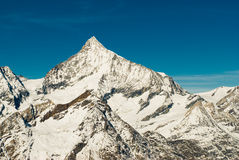 Cimeira de Weisshorn Imagem de Stock